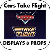 Cars Take Flight Cardboard Cutout Standup Props