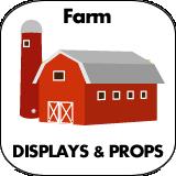 Farm Cardboard Cutout