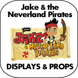 Jake and the Neverland Pirates Cardboard Cutout Standup Props