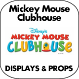 Mickey Mouse Clubhouse Cardboard Cutout Standup Props