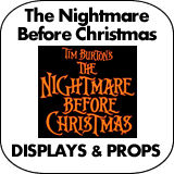 The Nightmare Before Christmas Cardboard Cutout Standup Props
