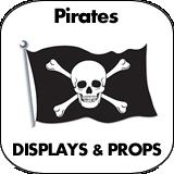 Pirates Cardboard Cutouts
