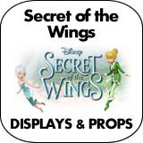 Secret of the Wings Cardboard Cutout Standup Props