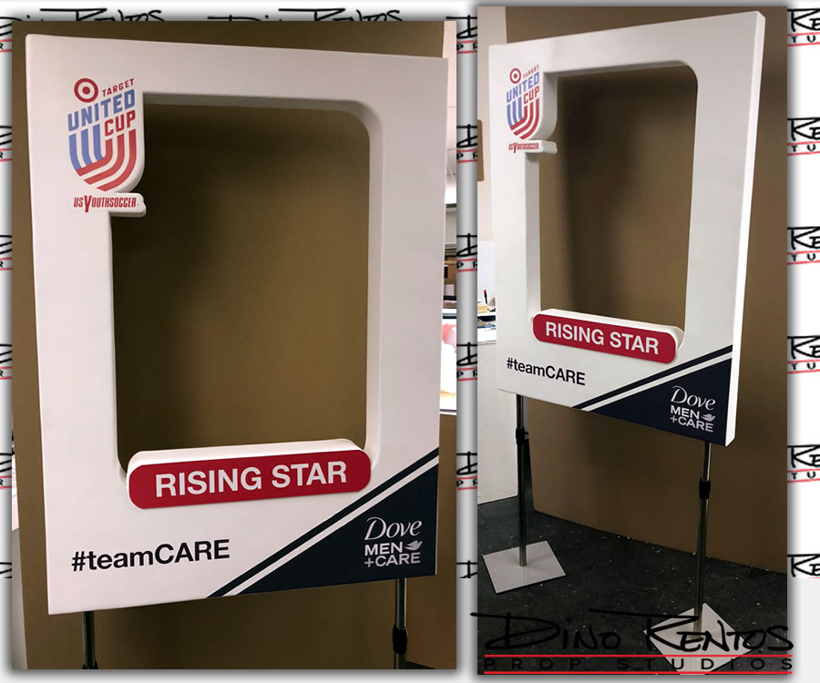 Custom Large Foam Photo Frames for events tradeshows and parties