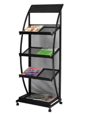 Iron Literature Display Rack -Style S