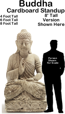 Buddha Cardboard Cutout Standup Prop