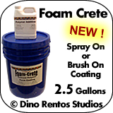 2.5 Gallon Foam Crete - Foam Coating