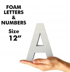 """Letters & Numbers 12"""""""