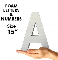 """Letters & Numbers 15"""""""