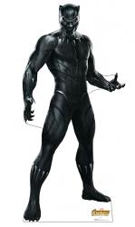 Black Panther Marvel Cardboard Cutout Standup Prop