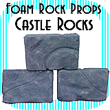 Castle Wall Rocks - Single Rock