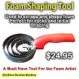Foam Shaping Tool