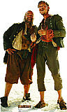 Pirate Duo Cardboard Cutout Standup