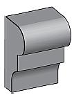 M19 - Architectural Foam Shape - Molding