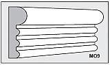 M09 - Architectural Foam Shape - Molding