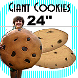 Big Giant Cookie Foam Prop 24""