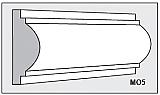 M05 - Architectural Foam Shape - Molding