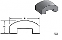 W1 - Architectural Foam Shape - Wall Cap