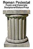 Roman Pedestal Statue Prop