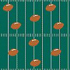 "Cardboard Roll - Football - 48"" x 25'"