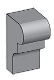 M23 - Architectural Foam Shape - Molding