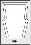 KE4 - Architectural Foam Shape - Keystone