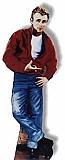 James Dean-Red Jacket Cardboard Standee