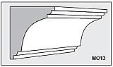 M013 - Architectural Foam Shape - Molding