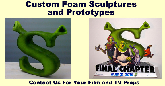 Custom Made Foam Props for Billboards and Signs